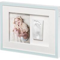 Baby Art Cornice per Foto Collage Tiny Style Bianco Cristallino