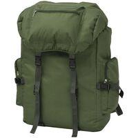 vidaXL Zaino Stile Militare 65 L Verde