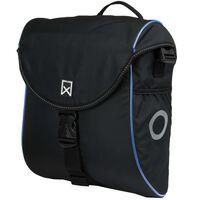 Willex Borsa Laterale per Bicicletta 300 S 12 L Nero e Blu