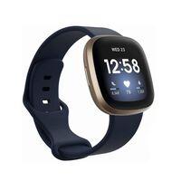 Bracciale Fitbit Sense / Versa 3 Dark Blue (S)