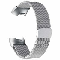 Fitbit Charge 3/4 bracciale Milanese loop - argento - L