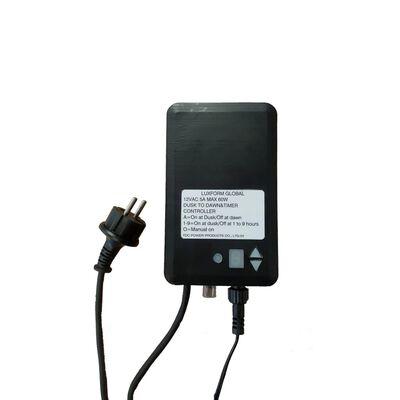 Luxform Trasformatore per Esterni 60W 12V con Timer
