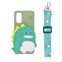 Custodia per telefono 3D con custodia per Samsung Galaxy S20 - Dino ve