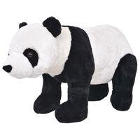 vidaXL Panda di Peluche Giocattolo Nero e Bianco XXL