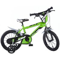"""Dino Bikes Bicicletta per Bambini MTB R88 Verde 16"""" DINO356007"""