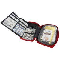 Travelsafe Kit di Pronto Soccorso 57 pz Globe Tour Rosso