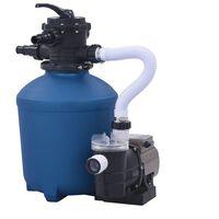 vidaXL Pompa con Filtro a Sabbia con Timer 530 W 10980 L/h