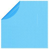 vidaXL Pellicola Galleggiante Solare PE Rotonda 455 cm per Piscina Blu
