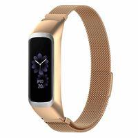 Bracciale Samsung Galaxy Fit E R375 In Acciaio Inossidabile Oro Rosa