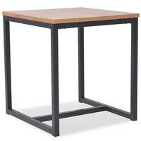 vidaXL Tavolino da Caffè in Legno di Frassino 48x48x53 cm