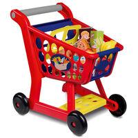 Happy People Carrello della Spesa Giocattolo in Plastica Multicolore