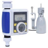 vidaXL Timer Digitale Irrigazione a Singola Uscita e Sensore Pioggia