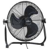 vidaXL Ventilatore da Pavimento a 3 Velocità 40 cm 40 W Nero