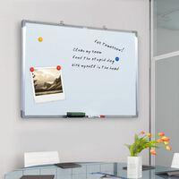 HomCom Lavagna Magnetica da parete 90 x 60 cm con telaio