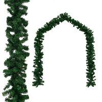 vidaXL Ghirlanda di Natale in PVC 20 m