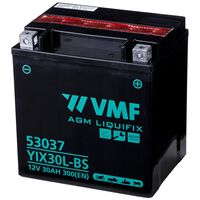 VMF Powersport Batteria Liquifix 12 V 30 Ah YIX30L-BS