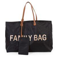 CHILDHOME Borsa per Pannolini Family Bag Nera