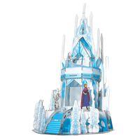 Frozen 2 Puzzle 3D Ice Palace 47 pz Blu Traslucido