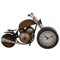 Gifts Amsterdam Orologio da Tavolo Motor Metallo Marrone 35x13x17,5 cm