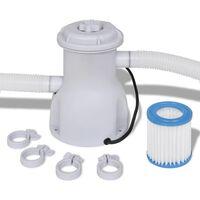 vidaXL Filtro con Pompa per Piscina 300 gal / h