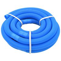 vidaXL Tubo Flessibile per Piscina 38 mm 9 m Blu