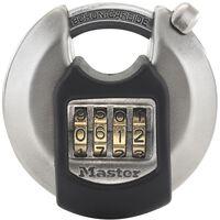 Master Lock Lucchetto a Disco Excell in Acciaio Inox 70 mm M40EURDNUM