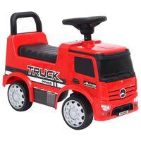 vidaXL Furgone per Bambini Mercedes-Benz Rosso