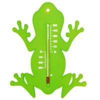 Nature Termometro da Parete per Esterni Rana Verde
