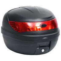 vidaXL Cassetta di Coda per Moto 35 L per 1 Casco