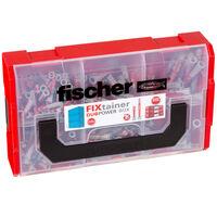 Fischer Set di Tasselli FIXtainer DUOPOWER Corti/Lunghi 210 pz