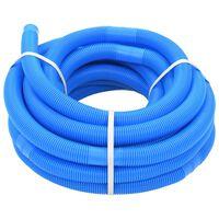 vidaXL Tubo Flessibile per Piscina 32 mm 15,4 m Blu