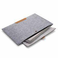 "Custodia Per Computer In Coperta Di Lana Per Macbook Air 13 ""grigio"