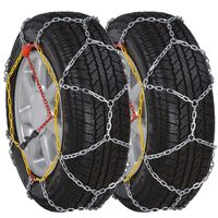 Set 2 pz Catene da neve 12 mm 185/70-13 175/70-14 185/65-14 195/50-15