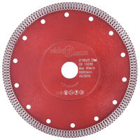 vidaXL Disco da Taglio Diamantato con Fori in Acciaio 180 mm