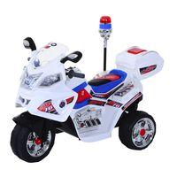 HOMCOM Moto Elettrica per Bambini Motorino Giocattolo 3 Ruote