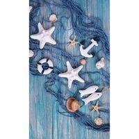 Good Morning Telo da Spiaggia KEVIN 100x180 cm Blu