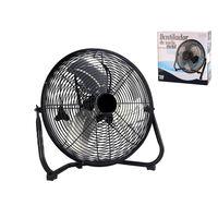 Ventilatore da pavimento in metallo 25cm -50W - Ventilatore