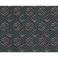Edem 84114br95 Carta Da Parati Tnt Geometrico Antracite