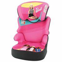 Mattel Seggiolino Auto per Bambini Befix Barbie Gruppo 2+3 Rosa