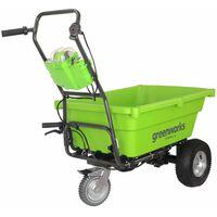 Greenworks Carrello da Giardino G40GC Batteria 40V Non Inclusa 7400007