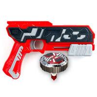 Silverlit Blaster Single Shot con Spinner Mad Firestorm Rosso