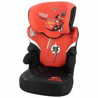 Disney Seggiolino Auto per Bambini Befix Cars Gruppo 2+3 Rosso
