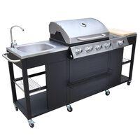 Barbecue a gas Missouri, 4 bruciatori +1