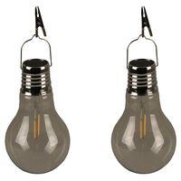 Luxform Luci LED Solari per Feste in Giardino 2 pz Trasparente