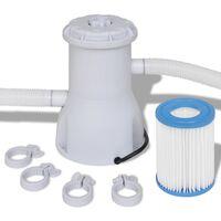 Filtro con pompa per piscina 3028 L / h