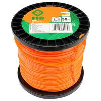FLO Filo Tagliaerba Extranyl 2,4 mm 90 m Arancione