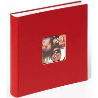 Walther Design Album Fotografico Fun 30x30 cm Rosso 100 Pagine