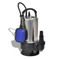 vidaXL Pompa Sommersa per Acque Reflue 1100 W 16500 L/h