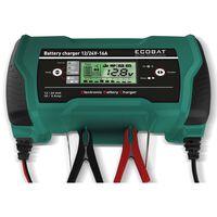 ECOBAT Caricabatterie 12/24 V 16 A