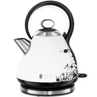 Russell Hobbs Bollitore Legacy Floral Bianco 1,7 L 2000-2400 W